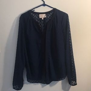 Skies Are Blue Tops - Skies are Blue shear Blouse